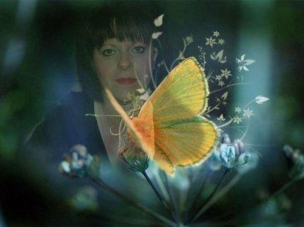 io e farfalla