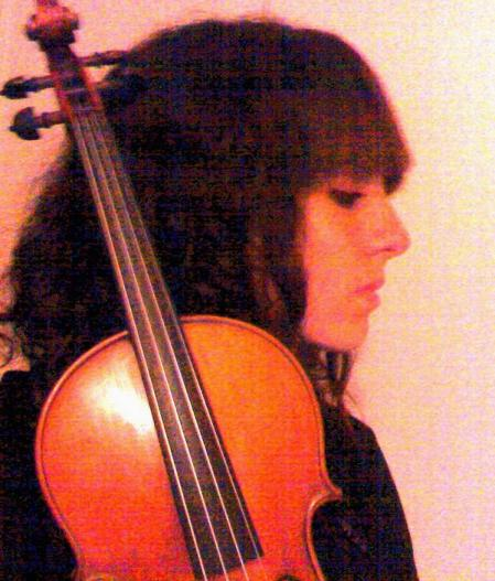 Marilena con violino