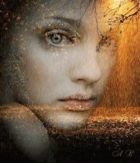 volto pioggia autunno